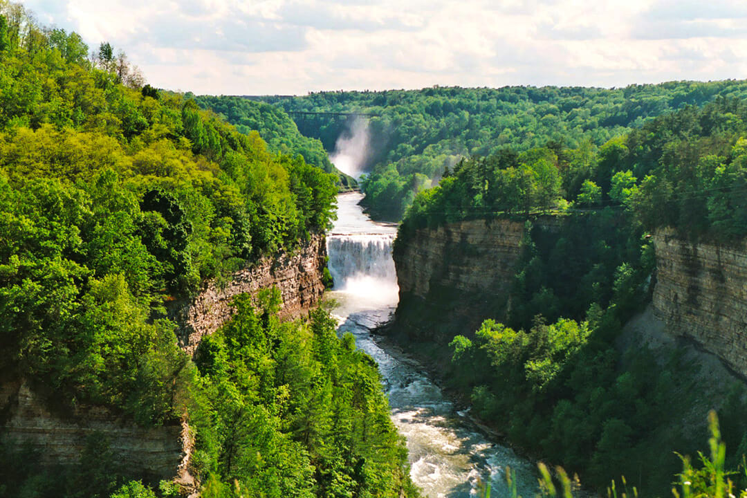Genesee River at Letchworth