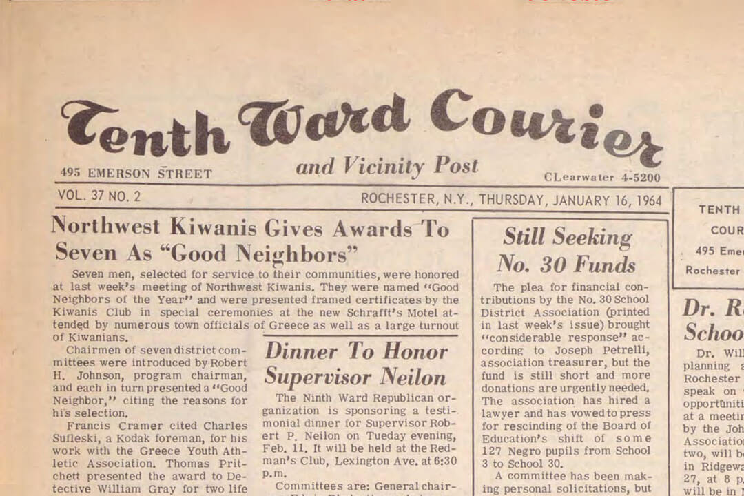 Tenth Ward Courier
