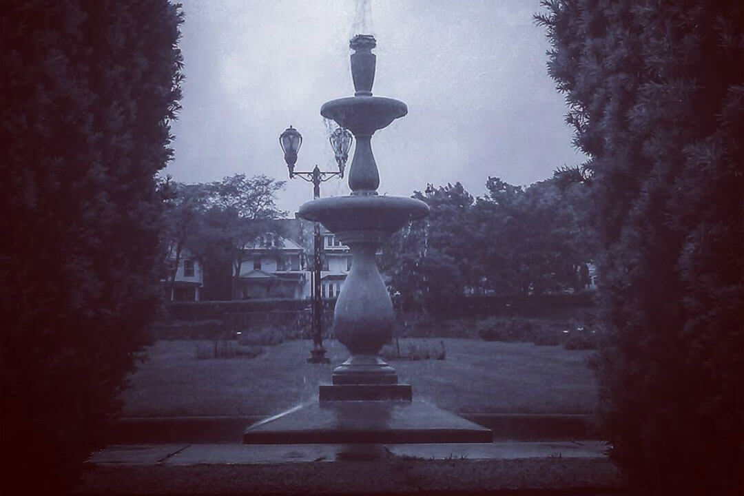 Fountain at Maplewood Park
