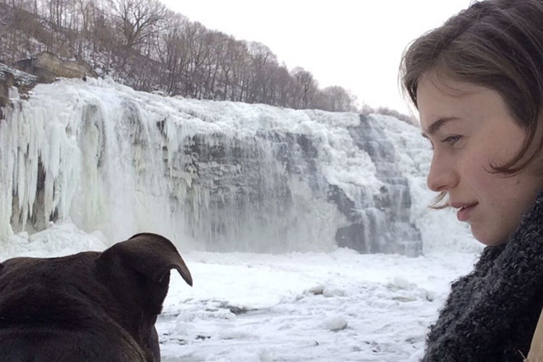 Her and I at the Genesee River