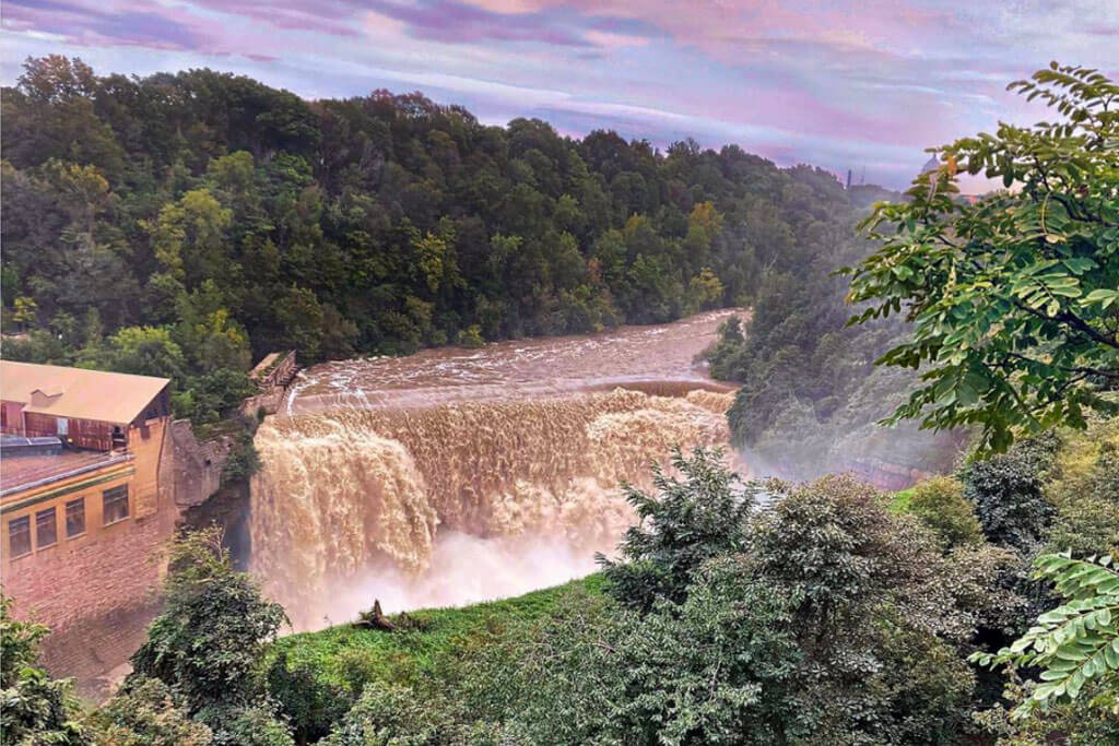 Great View of the Lower Falls