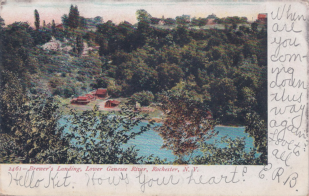 Postcard of the Lower Falls - Carthage